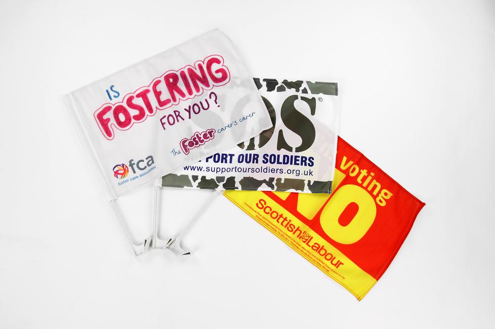 Custom Car Flags | Promotional Car Flags | Lancaster Printing