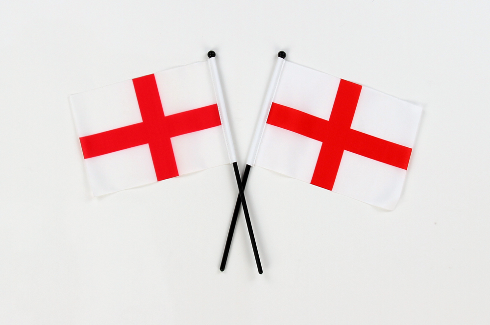 england flags small hand waving flags lancaster printing