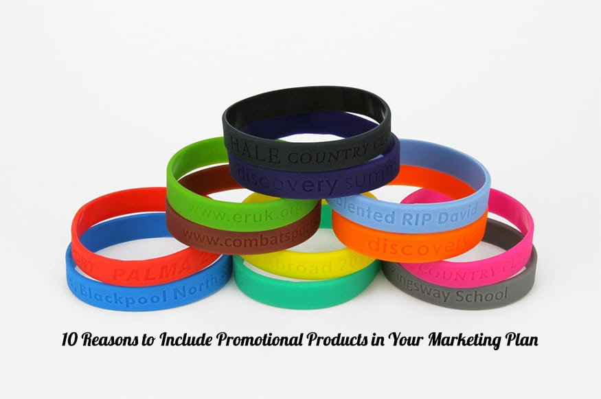 10 Reasons to Include Promotional Products in Your Marketing Plan