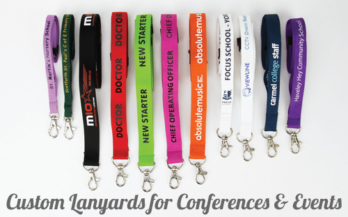 Custom Lanyards for Conferences and Events