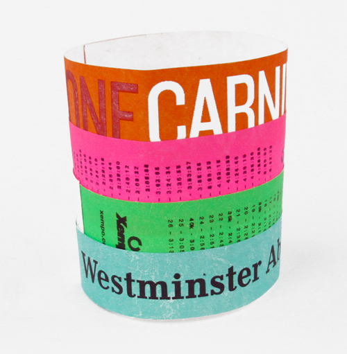 Paper Wristbands
