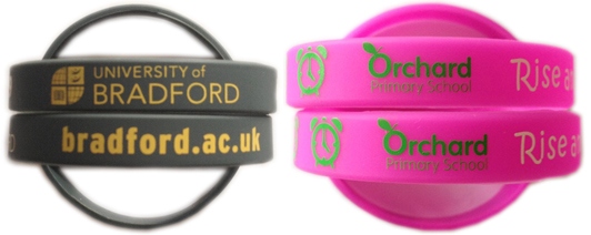 Silicone Wristbands for Schools and Colleges