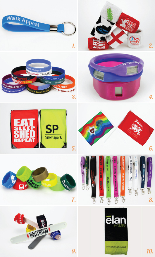 Custom Promotional Products for Charity Runs