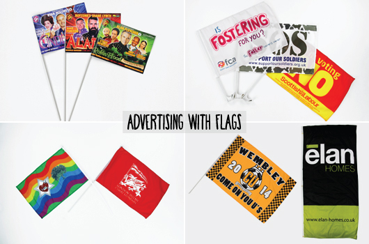 Advertising with Flags