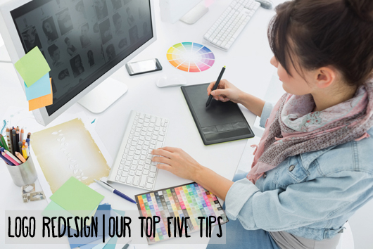 Logo Redesign | Our Top Five Tips
