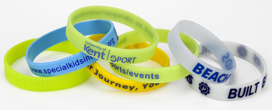 Silicone Wristbands for Colleges and Universities