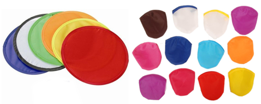 Foldable Frisbees