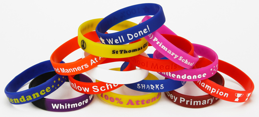 Silicone Wristbands for Schools