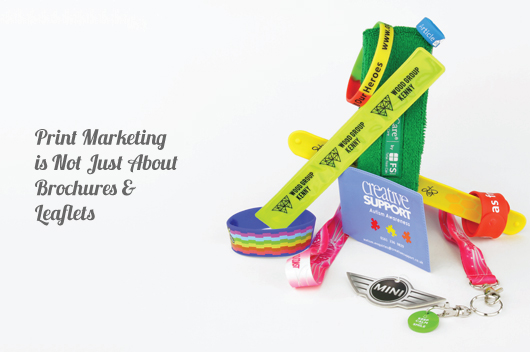 Print Marketing is Not Just About Printed Brochures and Leaflets