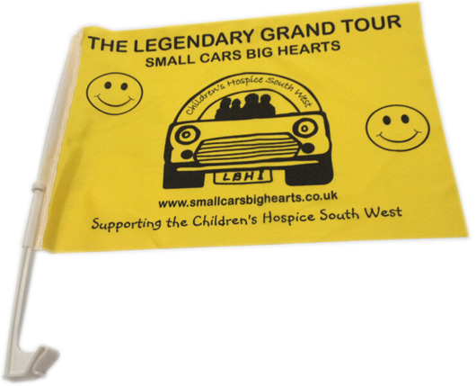 Charity Car Flags