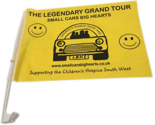 Charity Car Flags