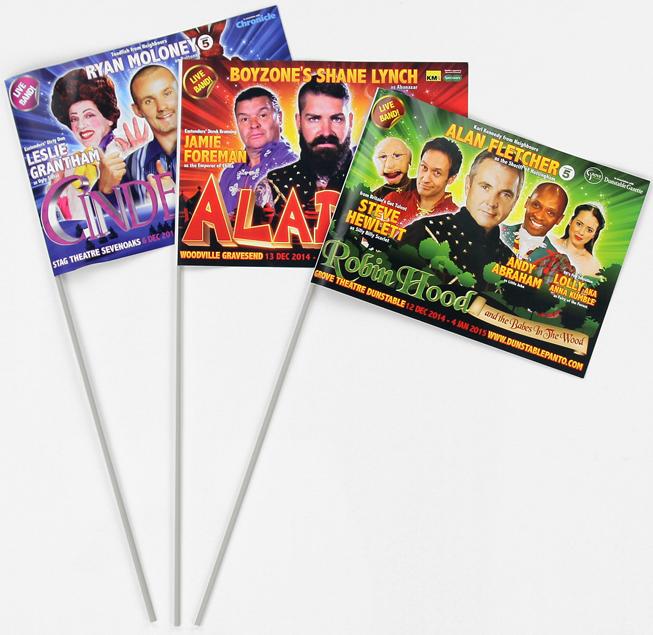 Custom Paper Flags