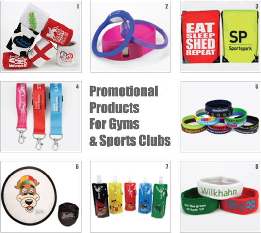 Promotional Merchandise for Gyms and Sports Clubs