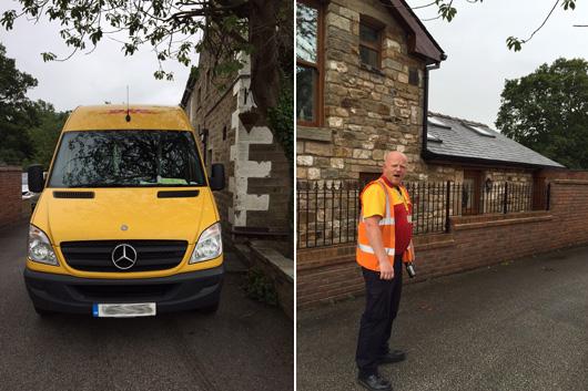 Gareth Our DHL Driver