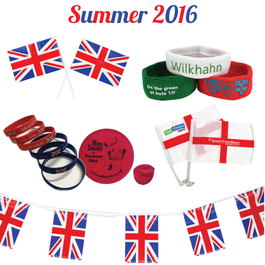 Summer 2016 Promotional Products