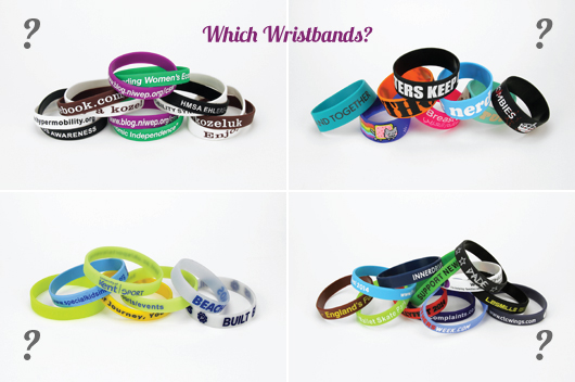 Which Silicone Wristbands