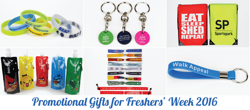 Promotional Gift Ideas for Freshers' Week