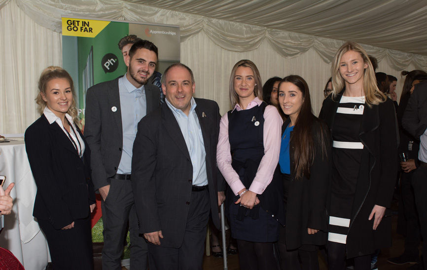 Apprenticeship Ambassadors at the House of Commons