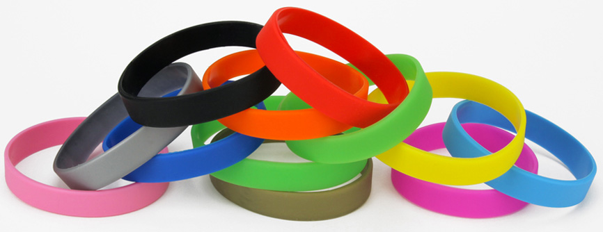 Plain School Wristbands