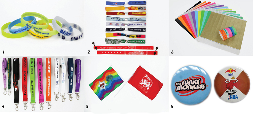Festival Season ~ Promotional Merchandise