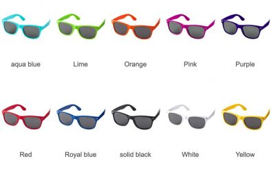 Retro Sunglasses (Colours)