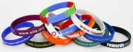 Printed Silicone Wristbands for Fundraising